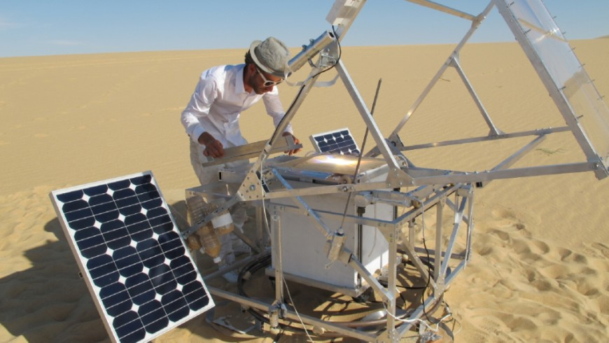 3D Solar Sinter Printer Works With Sand And Sun