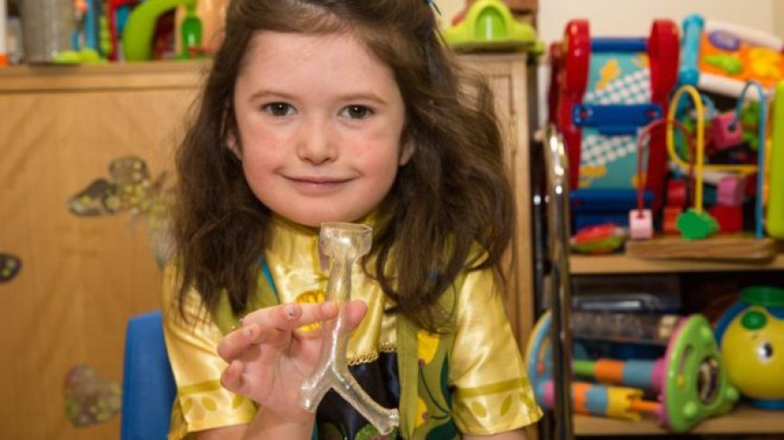 3D-Printing Helps Young Girl Breathe Easier