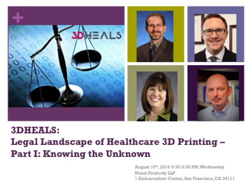 Legal Landscape of Healthcare 3D printing – Part I : Knowing the Unknown | 3D Heals